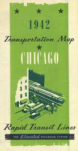 Chicago Transit Map by Keeping Everyone In The Loop 50 Years Of Chicago U201cl U201d Graphics
