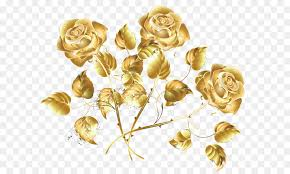 gold roses golden creative sea png 1634 1346 free