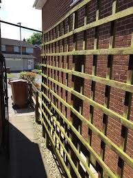 4x forest wooden garden trellis different sizes in congleton