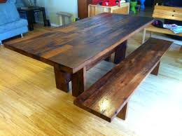 Oak Dining Room Custom Made Reclaimed White Oak Dining Room Table By Brett