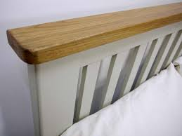 2 6 Bed Frame by Grey Painted Oak Double Bed Oak City