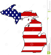 Michigans State Flag Michigan Clipart Michigan Flag Clipart Pencil And In Color
