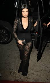 khloe jumpsuit kourtney steals the grammys spotlight in plunging lace