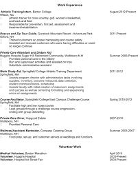 where does volunteer experience go on a resume resume for study