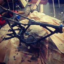 project honda cb450 cafe racer stripping paint frame u0026 air needle