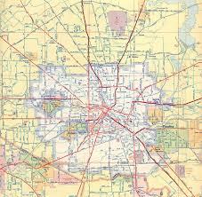 Phoenix Freeway Map by Houston Freeway Map Map Of Houston Freeways Texas Usa
