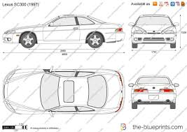 lexus sc300 price the blueprints com vector drawing lexus sc300
