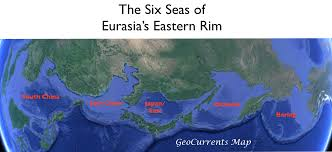 Seas Of The World Map by Slides On Conflicts In The East Asian Seas Geocurrents