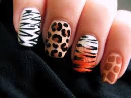 zebra pattern nail art ivory look animal print nail art designs womenitems com