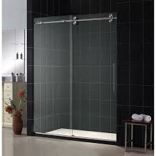 Diy Frameless Shower Doors 151 Best Sliding Shower Doors Images On Pinterest Glass Doors