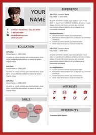 Resume Template For Microsoft Word Free Clean And Simple Resume Template For Word Docx Green
