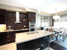dining room wall unit superb kitchen and dining room combo custom brown wooden wall