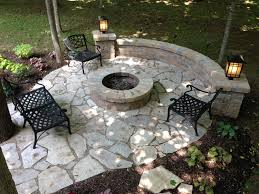 Flagstone Ideas For A Backyard Images Of Retaining Wall With Flat Stone Patio Email Us At