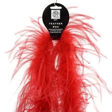 ostrich boas solid color