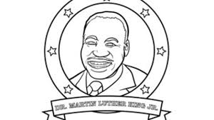 martin luther king parade coloring page woo jr kids activities