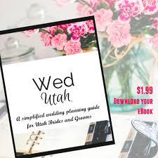 wedding planners in utah ebook wedding planning guide