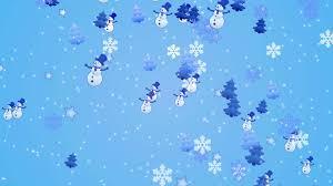 falling snowflake christmas lights footage falling snowflakes christmas trees snowman on the light