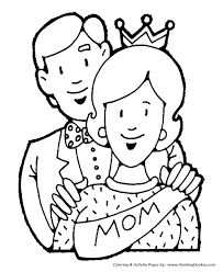 mother u0027s day coloring pages queen for a day coloring page sheets