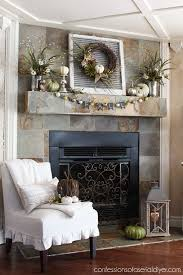 Shabby Chic Fireplace Mantels by Best 25 Slate Fireplace Ideas On Pinterest Slate Fireplace