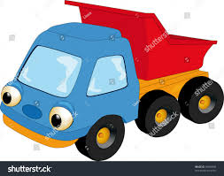 childrens toy car dumpbody truck stock vector 40568398 shutterstock