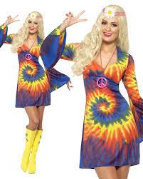 hippy tie dye dress costume revival fancydress