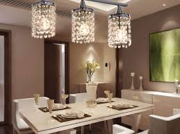 Dining Room Chandelier  Unique Brushed Nickel Pendant Lamp False - Contemporary crystal dining room chandeliers