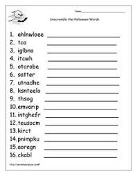 4th grade halloween worksheets free worksheets library download