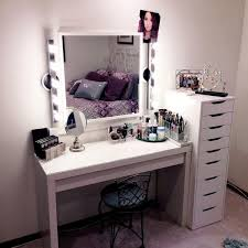 Cheap Bedroom Vanities Cheap Vanity Makeup Table Makeup Vanity With Plenty Of Storagean