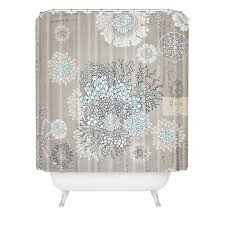 Extra Long Shower Curtain Bungalow Rose Holley French Blue Extra Long Shower Curtain