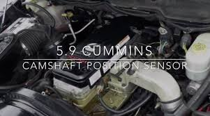 2000 dodge cummins problems 5 9 cummins camshaft position sensor