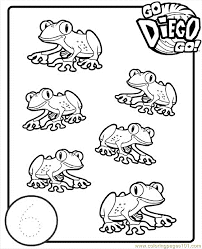 dk coloring pages go diego go printable coloring pages coloring home