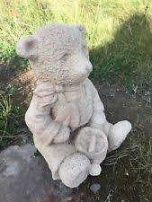 teddy garden ornaments ebay