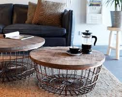 white coffee table etsy
