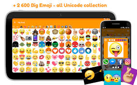 big emoji all large emojis for chat android apps on google play