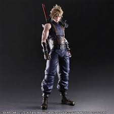 Cloud Strife Halloween Costume Final Fantasy Vii Remake Play Arts Kai Action Figure Cloud