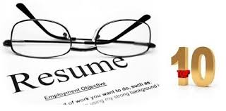 Resume Writting Our Blog Top 10 Tips For Successful Resume Writing Consumers