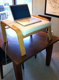 standing desk prototype scrivel