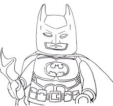 free coloring page batman
