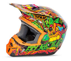 fly motocross helmets fly racing youth kinetic jungle helmet size md only cycle gear
