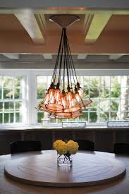 furniture rectangle wood hanging farmhouse chandelier with iron