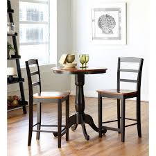 Unfinished Bistro Table Amish Oak Pub Table Home Decor Sedona Ro Design Modern Full Size
