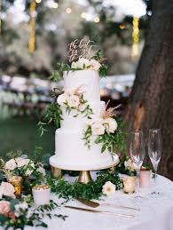wedding cake greenery greenery topped white wedding cake 1 top ideas to try recipes