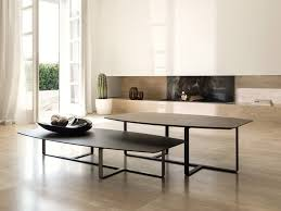 tempo short anthra table modern italian furniture furnitalia
