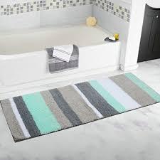 Microfiber Runner Rug Hebe Bathroom Runner Rugs Non Slip