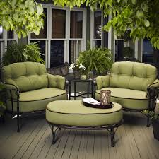 furniture awesome sage green patio conversation sets design ideas