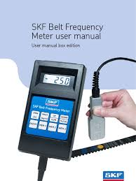 belt frequency meter belt mechanical calibration