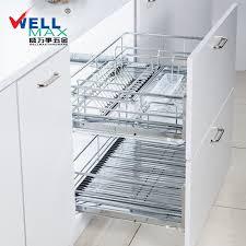Kitchen Cabinets Baskets Usd 1045 22 Wellmax Wellmax Stainless Steel Kitchen Cabinet