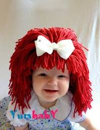 Halloween Costumes Red Hair Goldie Locks Wig Halloween Costume Baby Hat Baby Costume Baby Hats