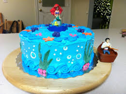 ariel birthday cake i made the cake photo and setup done by the