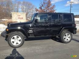 black jeep wrangler unlimited 2008 jeep wrangler unlimited sahara 4x4 in black 515490